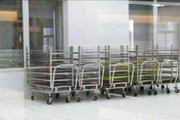 carts for potato microplant transfer